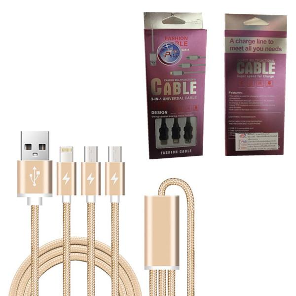 CABLE USB V8 I5 TYPEC 2.1A