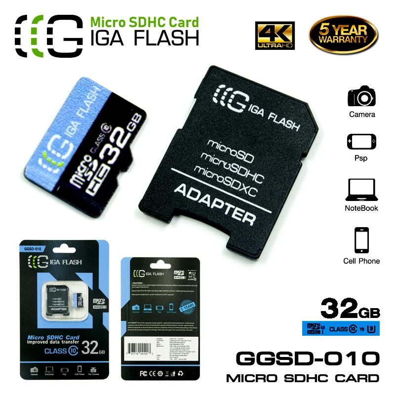 SD CARD CLASS10 32G 010 ของแท้