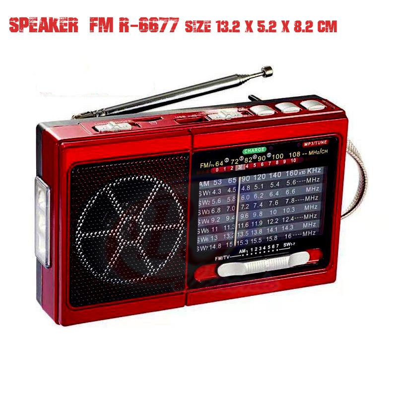 ลำโพงวิทยุ R6677UT