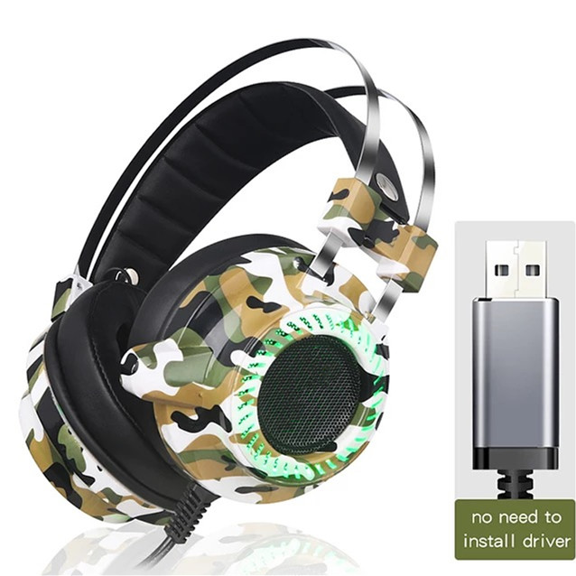 HEADPHONE หูฟังสำหรับเล่นเกม USB V2